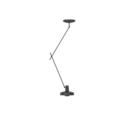 Ceiling Lamp ARIGATO CEILING LONG Grupa Products - black