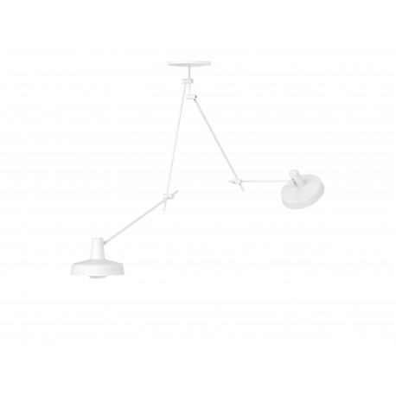 Lampa sufitowa ARIGATO CEILING 2 LONG Grupa Products - wydłużona, biała
