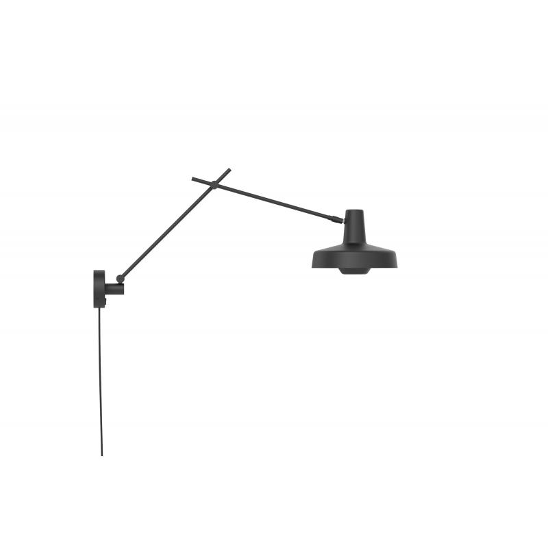 Kinkiet ARIGATO WALL Grupa Products - czarny, odłączany przewód