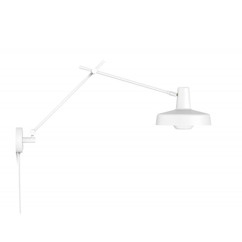 Kinkiet ARIGATO WALL Grupa Products - biały, odłączany przewód