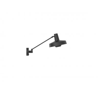 Kinkiet ARIGATO WALL SHORT Grupa Products - krótki, czarny, odłączany kabel
