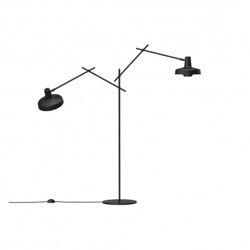 Lampa podłogowa ARIGATO FLOOR 2 Grupa Products - czarna
