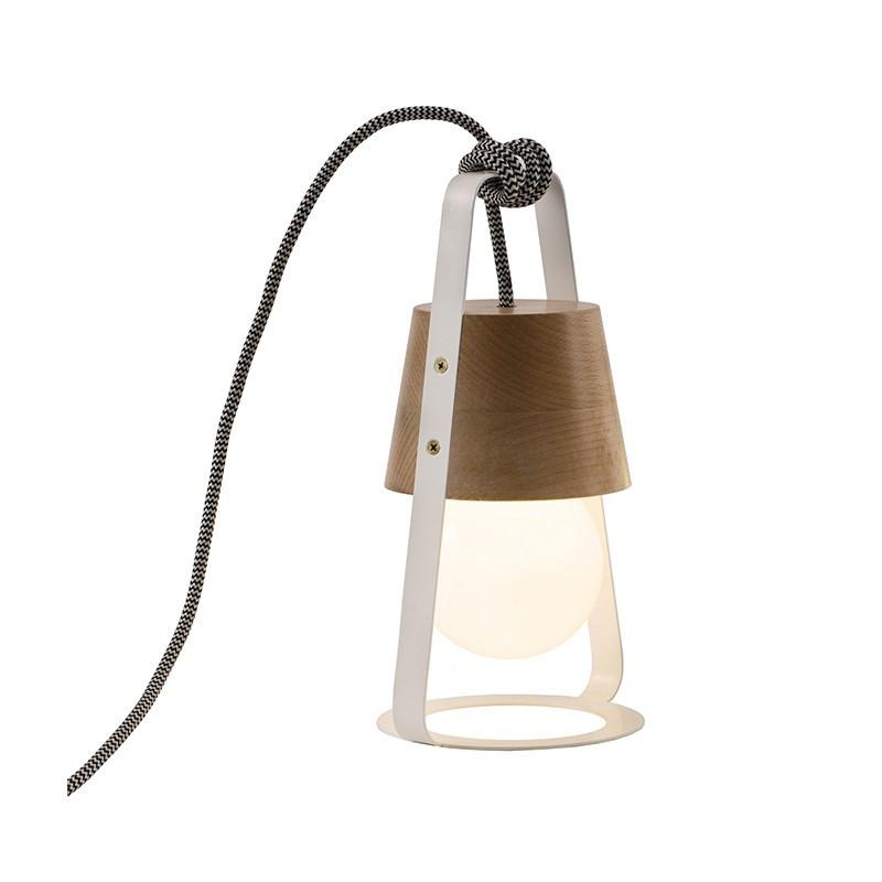 Lampa stojąca / Lampa wisząca LATARNIA HOP Design - biała