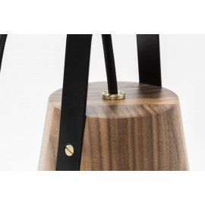 Standing lamp / Hanging lamp LATARNIA HOP Design - black