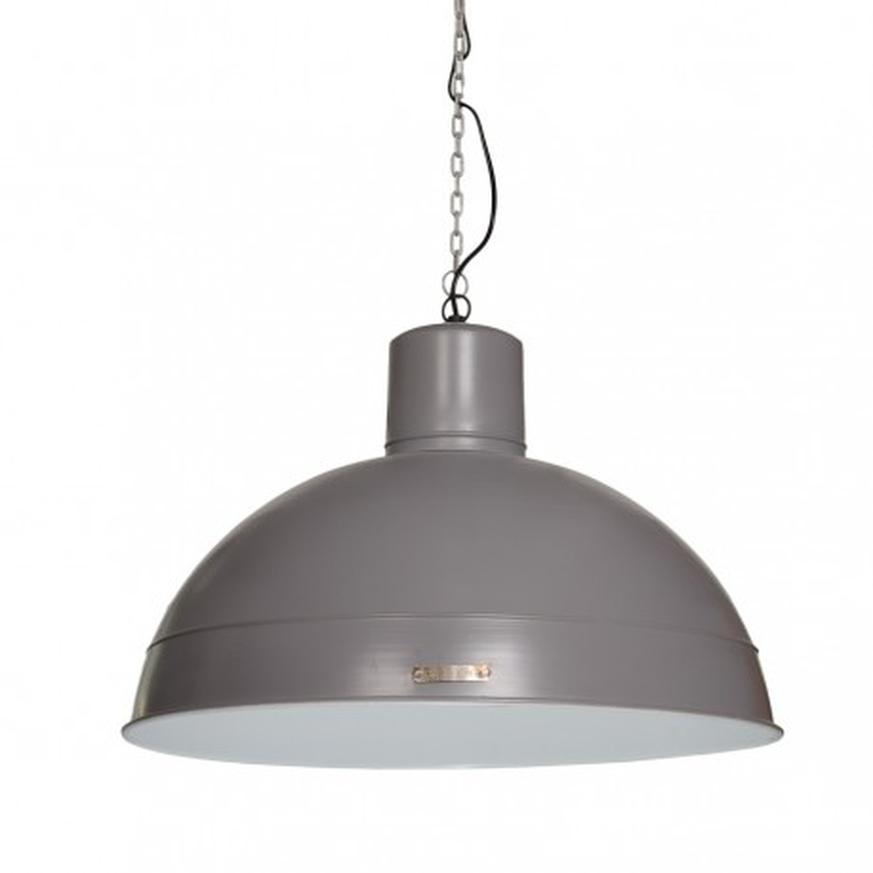 Industrialna lampa wisząca Dakota 60 cm Grey LOFTLIGHT – szara