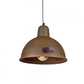 Industrial pendant lamp Indica 31 cm Rusty LOFTLIGHT
