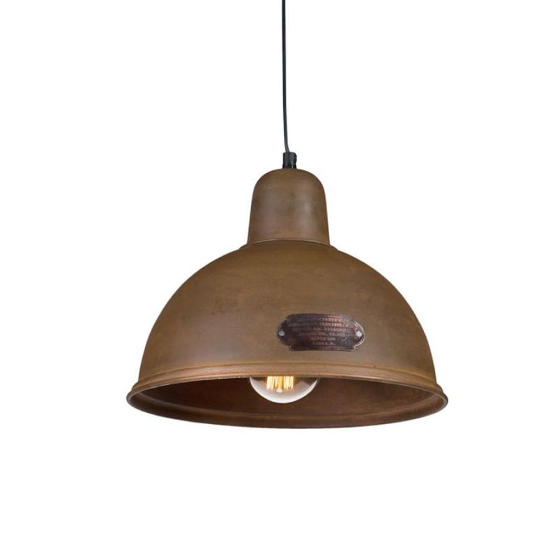 Industrial pendant lamp Indica 31 cm Rusty LOFTLIGHT