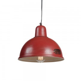 Industrial pendant lamp Indica 31 cm Red LOFTLIGHT - red
