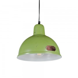 Industrial pendant lamp Indica 31 cm Green LOFTLIGHT - green