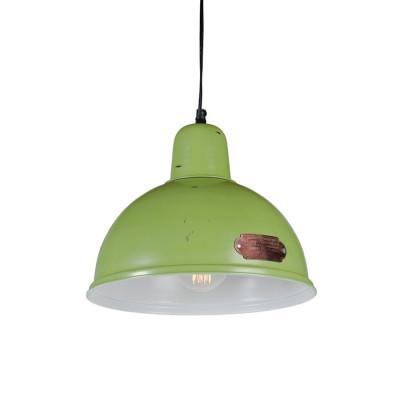 Industrialna lampa wisząca Indica 31 cm Green LOFTLIGHT – zielona