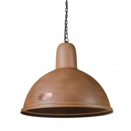 Industrial pendant lamp Indica 46 cm Rusty LOFTLIGHT