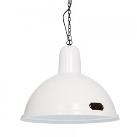 Industrial pendant lamp Indica 46 cm White LOFTLIGHT - white