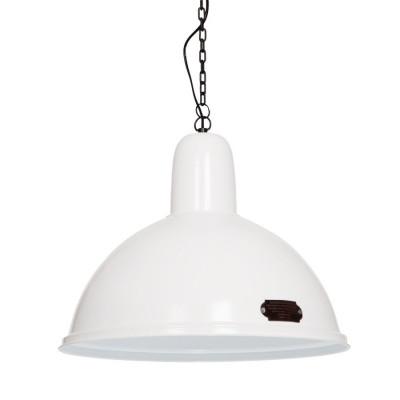 Industrialna lampa wisząca Indica 46 cm White LOFTLIGHT – biała