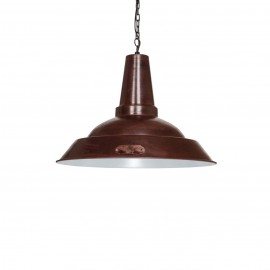 Industrial pendant lamp Kapito 36 cm Brown LOFTLIGHT - brown