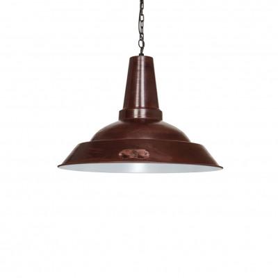 Industrialna lampa wisząca Kapito 36 cm Brown LOFTLIGHT – brązowa