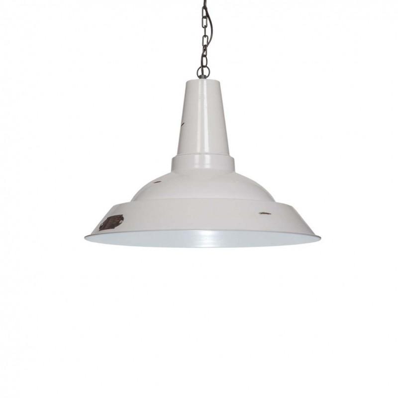 Industrialna lampa wisząca Kapito 36 cm White LOFTLIGHT – biała