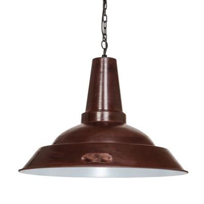 Industrial hanging lamp Kapito 48 cm Brown LOFTLIGHT - brown