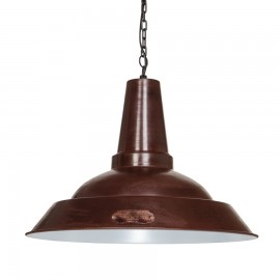 Industrialna lampa wisząca Kapito 48 cm Brown LOFTLIGHT – brązowa