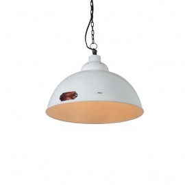 Industrial hanging lamp Kapito 48 cm White LOFTLIGHT - white