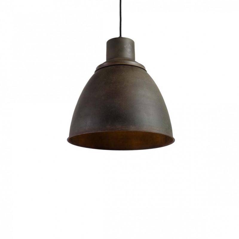 Industrialna Lampa wisząca Praga M Rusty Green LOFTLIGHT – ciemna zieleń