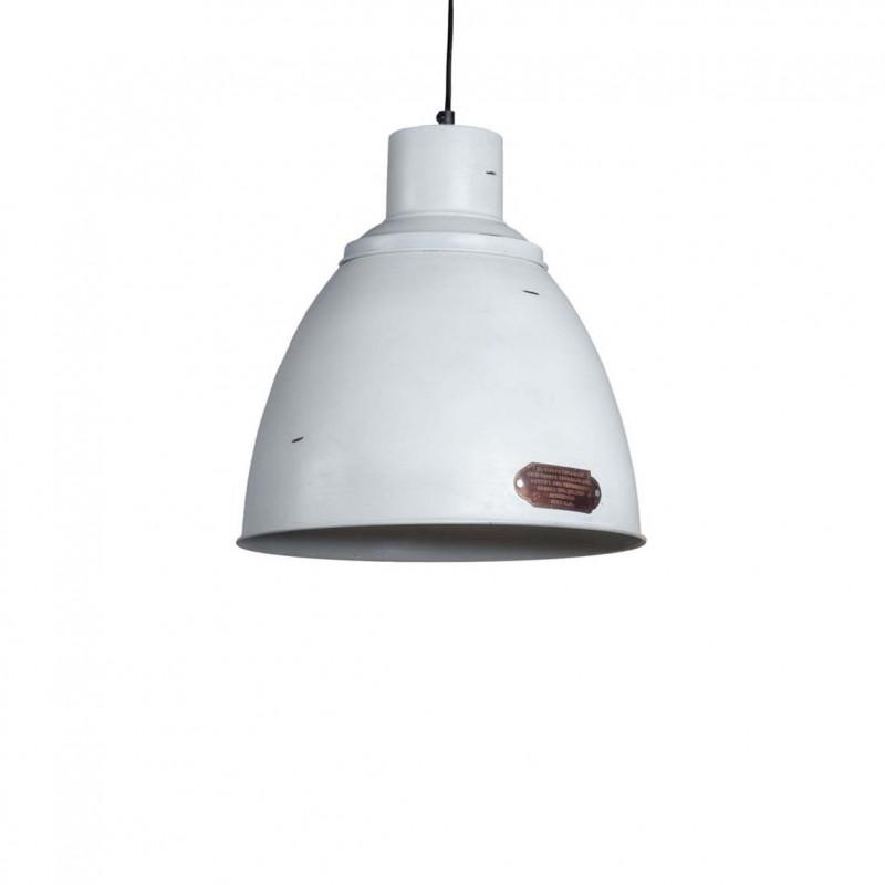 Industrialna Lampa wisząca Praga M White LOFTLIGHT – biała