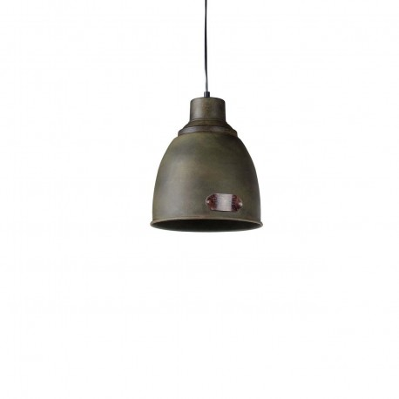Industrial Pendant lamp Prague S Rusty Green LOFTLIGHT - rusty green