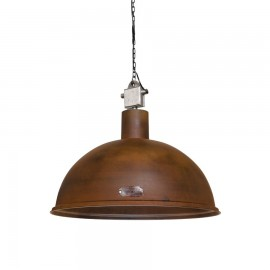 Industrial pendant lamp Rampa 60 cm Rusty LOFTLIGHT