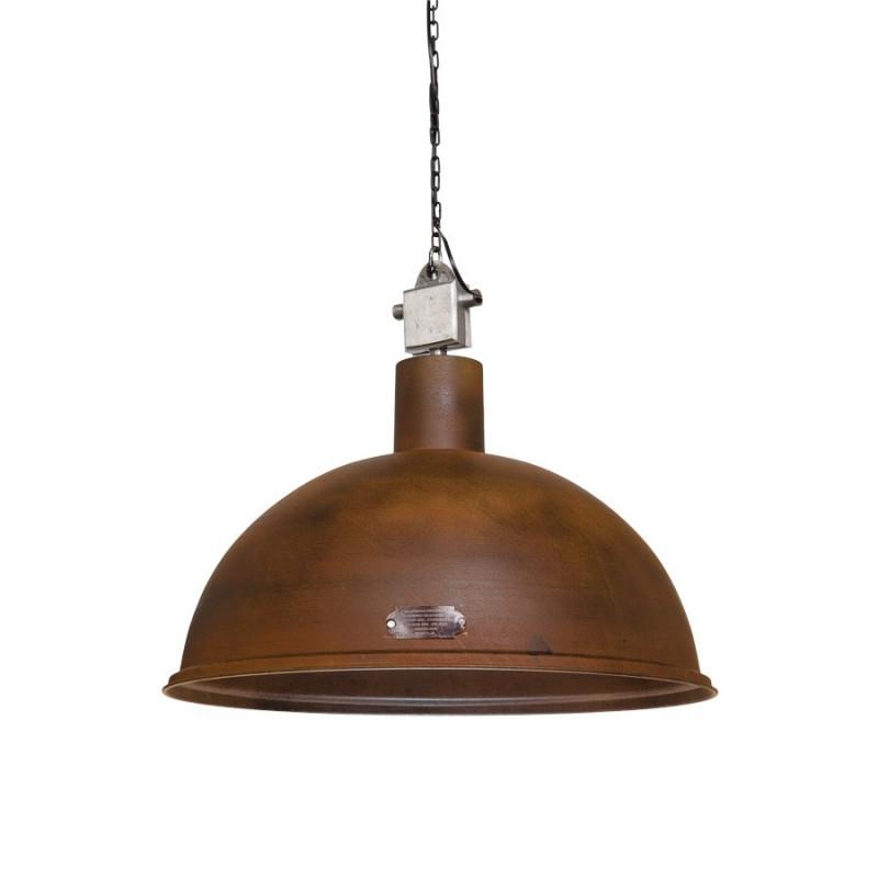 Industrial pendant lamp Rampa 60 cm Rusty LOFTLIGHT