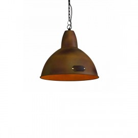 Industrialna Hanging lamp Salina 35 cm Rusty LOFTLIGHT