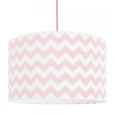 Pink Chevron lampshade Ø40cm