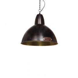 Industrial pendant lamp Salina 35 cm Black Gun LOFTLIGHT