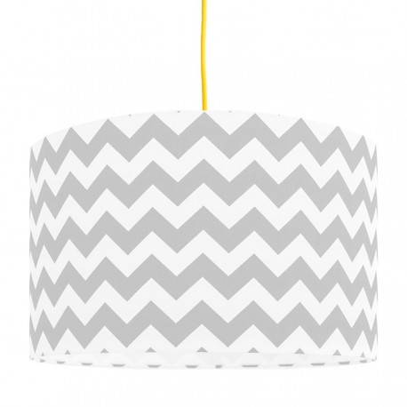 Grey Chevron lampshade Ø40cm