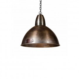 Industrialna lampa wisząca Salina 35 cm Nickel LOFTLIGHT