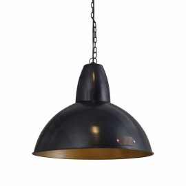 Industrial hanging lamp Salina 46 cm Black LOFTLIGHT - black
