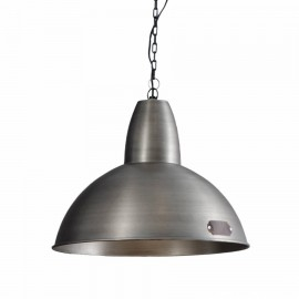 Industrial pendant lamp Salina 46 cm Nickel LOFTLIGHT