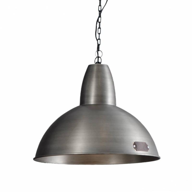 Industrialna lampa wisząca Salina 46 cm Nickel LOFTLIGHT