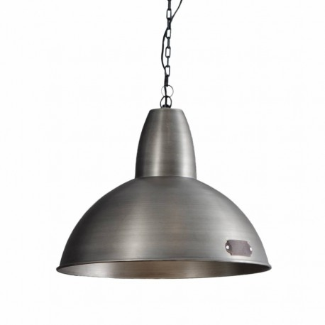 Industrialna lampa wisząca Salina 46 cm Nickel LOFTLIGHT