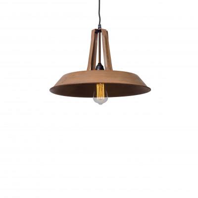 Industrialna lampa wisząca Tarta M Rusty Brown LOFTLIGHT – rdzawo brązowa
