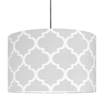 Grey Moroccan Clover Lampshade Ø40cm