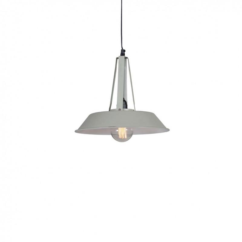Industrial pendant lamp Tarta S Gray LOFTLIGHT - gray