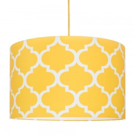 Yellow Moroccan Clover Lampshade Ø40cm