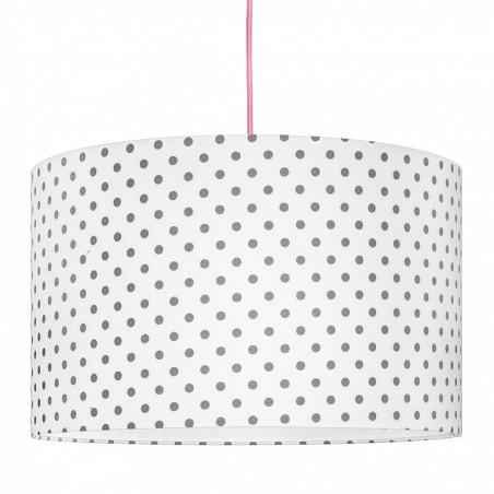Grey Dots Lampshade Ø40cm