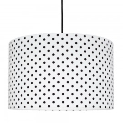Black Dots Lampshade Ø40cm