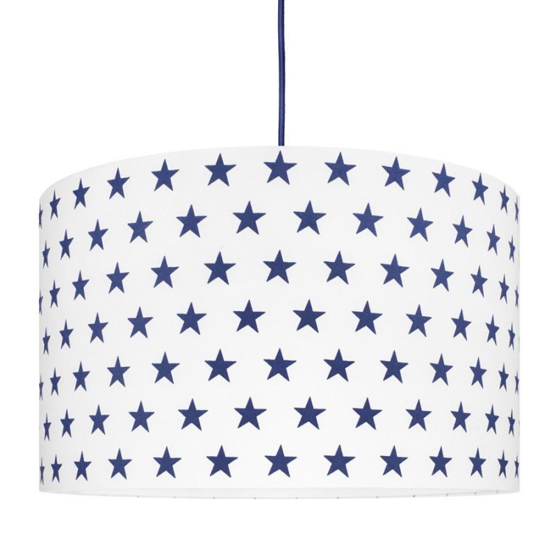 Navy Blue Stars Lampshade Ø40cm