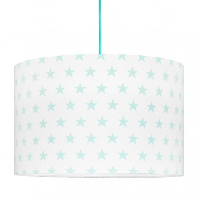 Mint Stars Lampshade Ø40cm