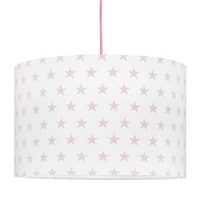 Pink Stars Lampshade Ø40cm