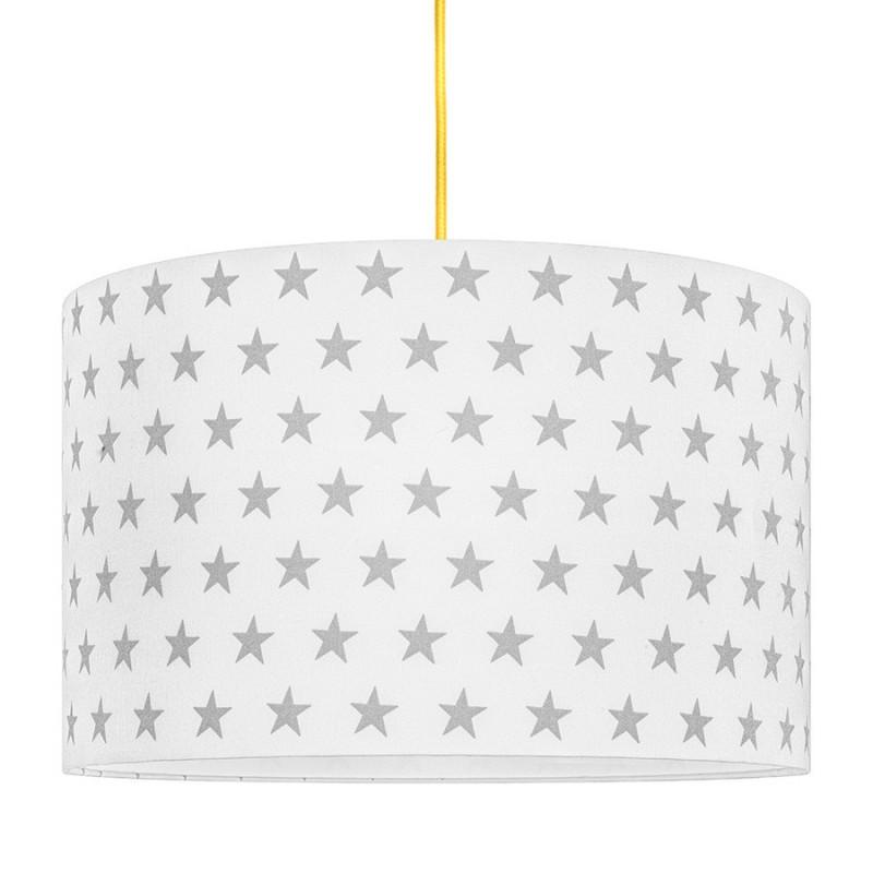 Grey Stars Lampshade Ø40cm
