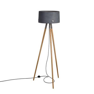 Betonowa lampa podłogowa Talma F LOFTLIGHT
