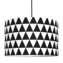 Black Triangles Lampshade Ø40cm