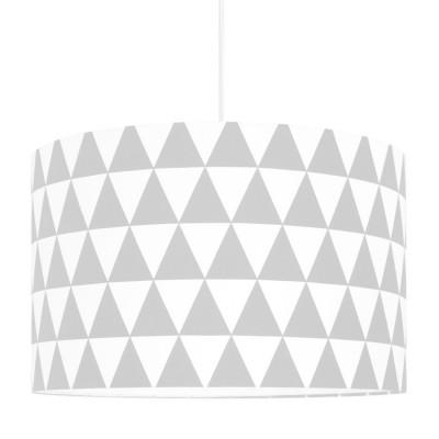 Grey Triangles Lampshade Ø40cm